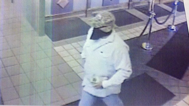 This image taken by surveillance camera shows the man police are looking for.
