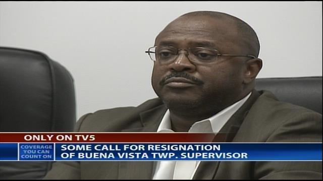 Buena Vista Township Supervisor Dwayne Parker