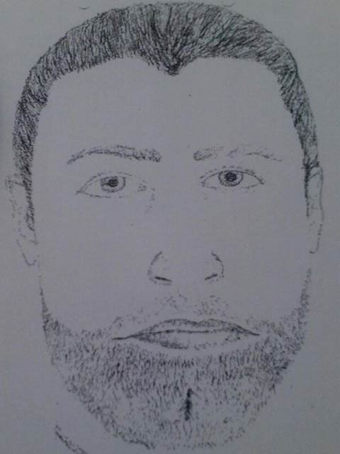 Sketch of the man accused of attempted abduction