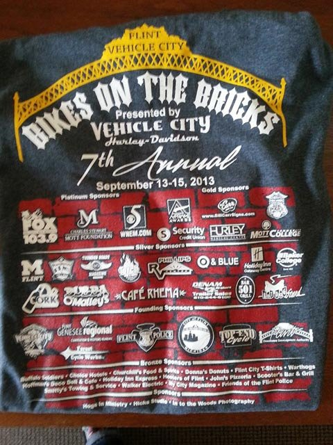 Photo courtesy of Bikes on the Bricks Facebook page