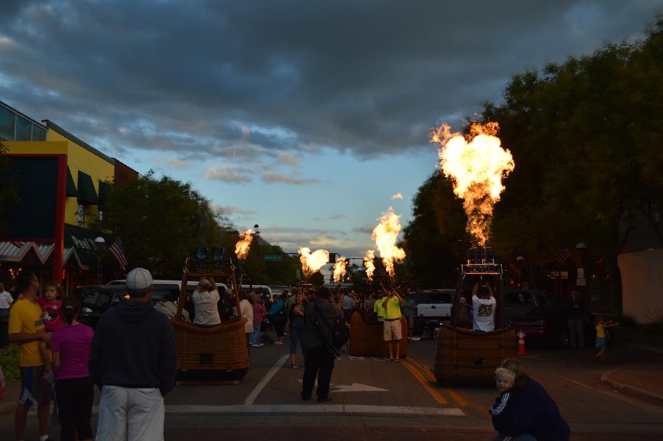 The Midland Street Glow -- photo courtesy of John Charles Mureiko.