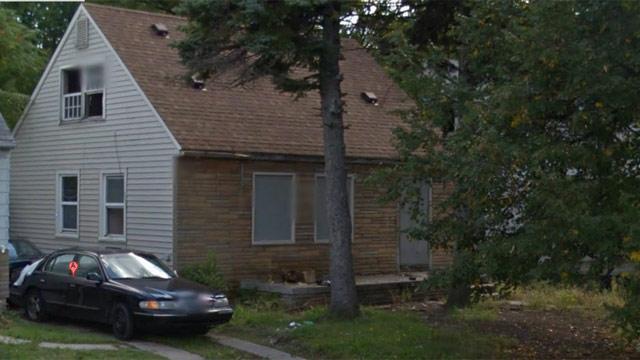 Eminem's old house.