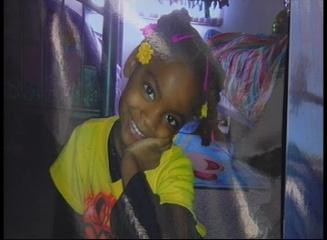Six-year-old Layla Jones.