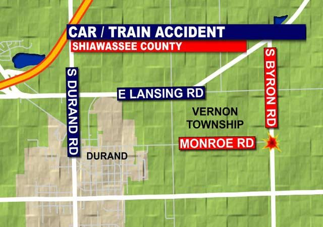 Map of scene of crash