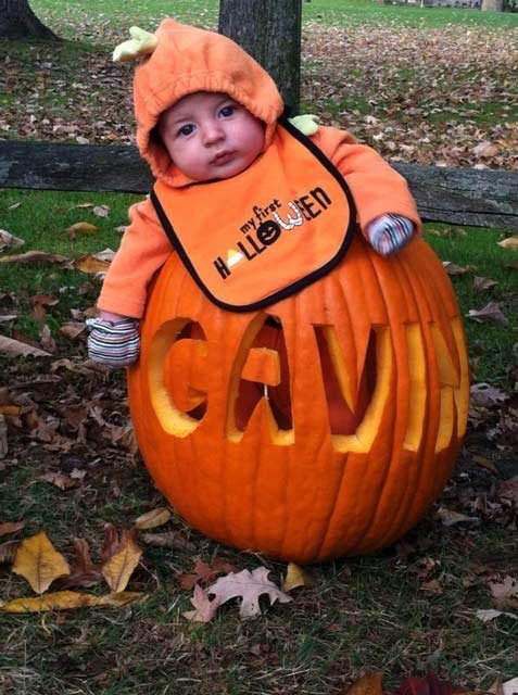 A little rain and wind won't stop this cutie from getting some candy tonight!