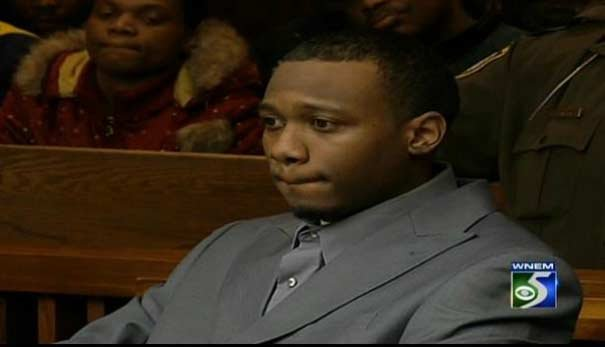 Michael Lawrence in court