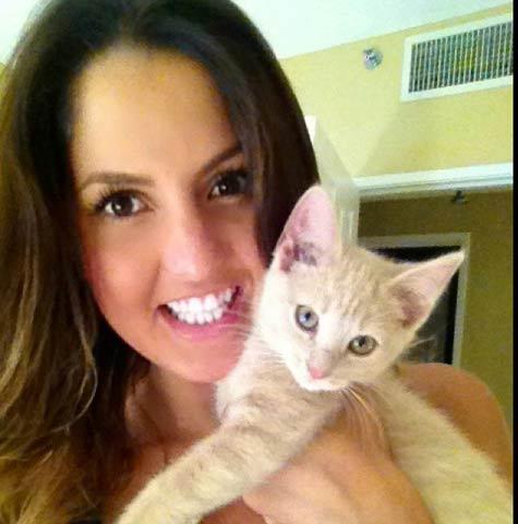 Kelly Markatos -- Photo courtesy of Twitter