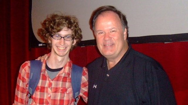 Dennis Haskins and his son Brian in 2006.