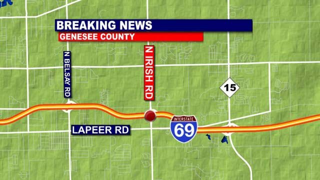 Map of scene of crash