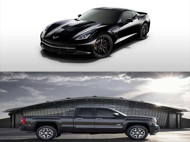 2014 Chevy Corvette Stingray and Chevy Silverado