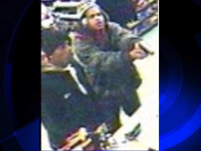 Surveillance photo of suspects.