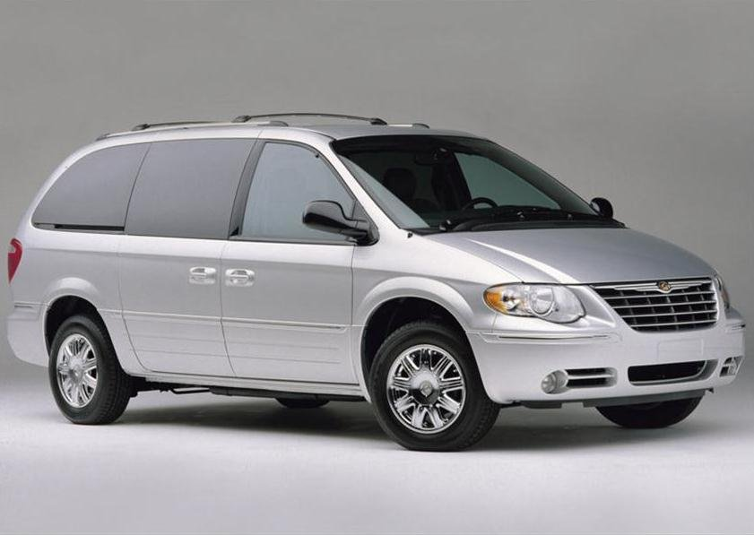 The color and type of Chrysler minivan authorities are searching for.