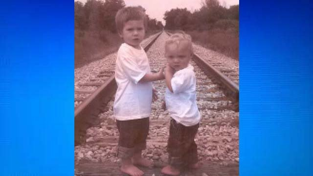 Xavier and Owen Cross- Photo courtesy of Walker-Martin Funeral Home obituary
