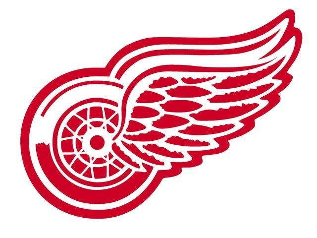 Red Wings. Stock Photo