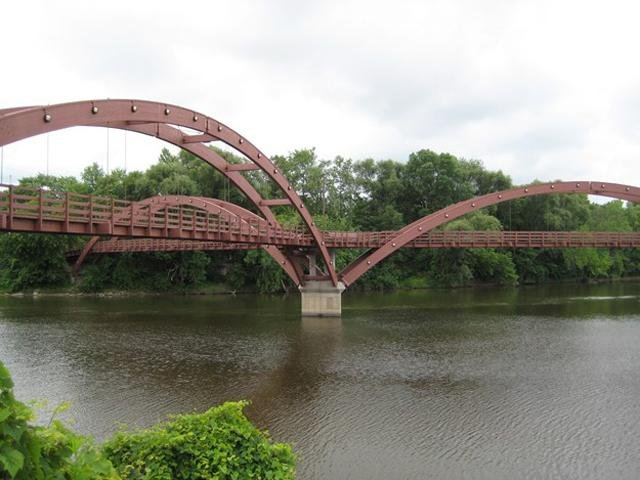The Tridge near downtown Midland.