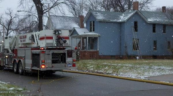 File Photo: Crews put out fire at an abandoned home