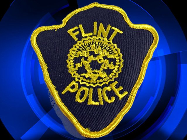 Flint police patch badge