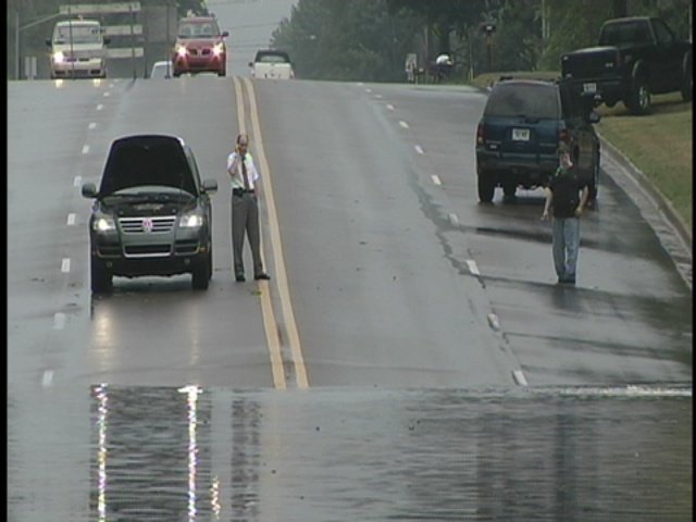 A photo of flooding in Genesee County from several years ago.