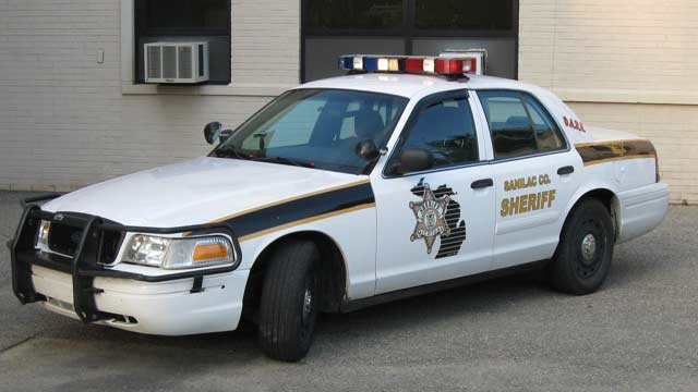 Sanilac County Sheriff's vehicle, Photo courtesy of Facebook