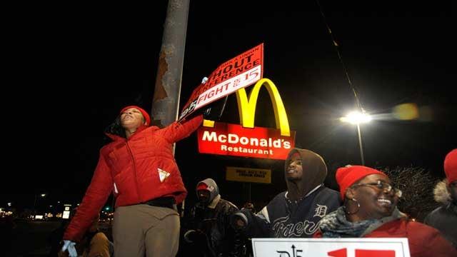 Photo of protestors courtesy of Darci McConnell.
