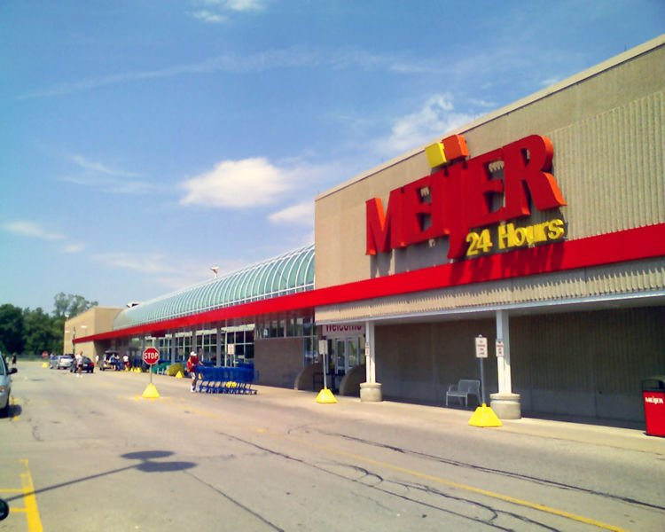 A Meijer store in Mid-Michigan.