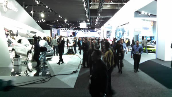 Crowd at NAIAS 2015