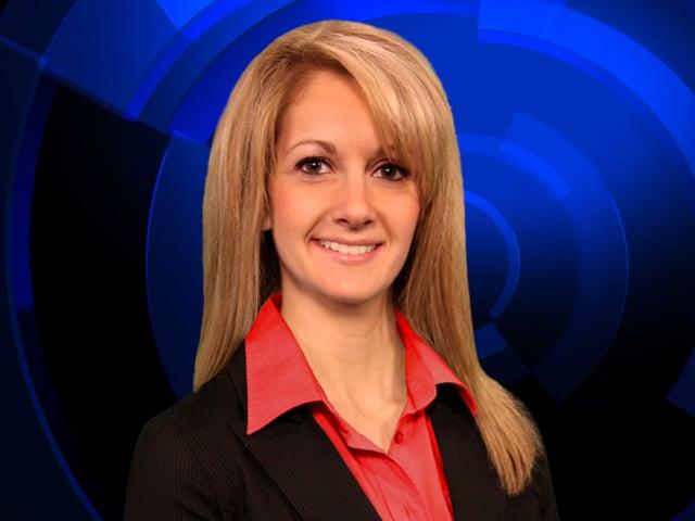Meteorologist Lauren Fahrenkrug