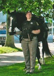 Courtesy: Lapeer County Sheriff's Mounted Unit