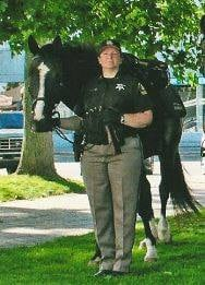 Courtesy: Lapeer County Sheriff's Mounted Unit