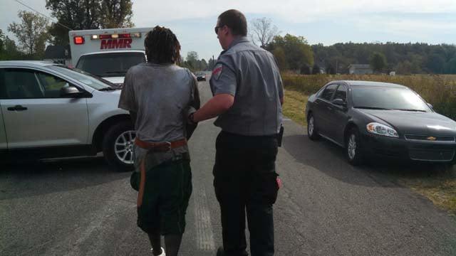 Suspect taken into custody