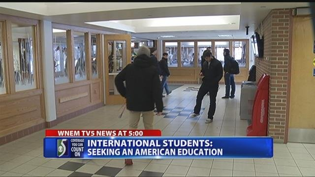 International students seeking an American education