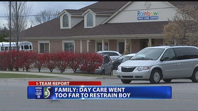 Family: day care went too far to restrain boy