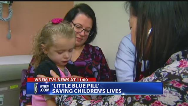 'Little blue pill' saving children's lives