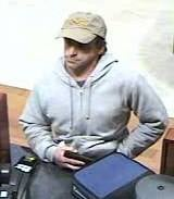 Bank robbery suspect: Medford, Oregon PD