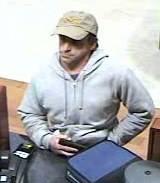 Bank robbery suspect: Medford, Oregon PD