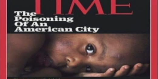 A 2-year-old Flint resident was featured on the cover of Time Magazine as the face of the water crisis.