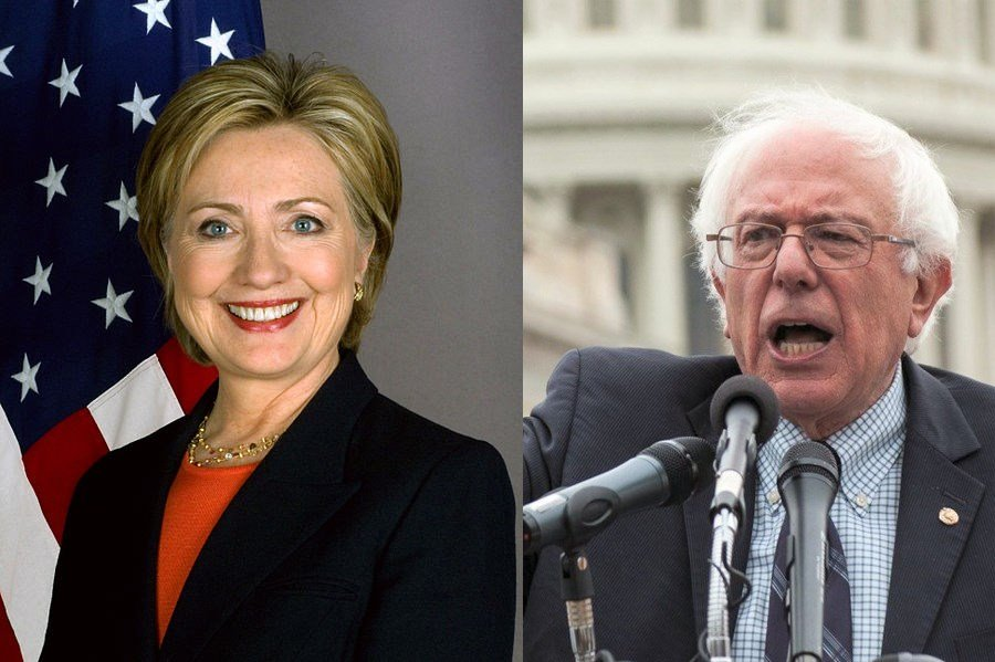 Images: Clinton (WhiteHouse.gov) Sanders (voteberniesanders2016.com)