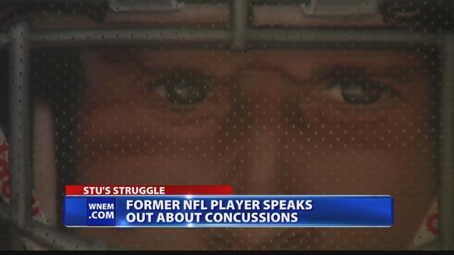 Stuart Schweigert talks about his health following NFL concussions