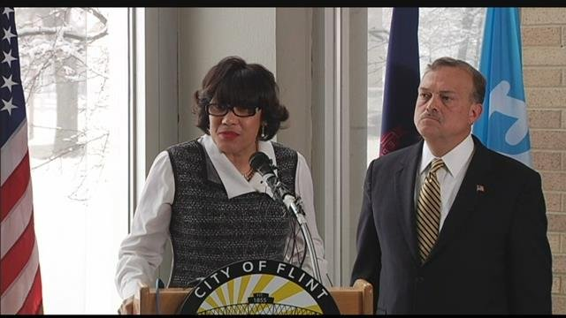 Flint Mayor Karen Weaver. Source: WNEM
