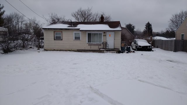 Suspected meth lab house. Source: WNEM