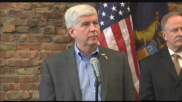 Gov. Rick Snyder. Source: WNEM