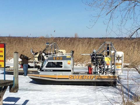 Airboat. Source: Tuscola Co. Sheriff's Dept.