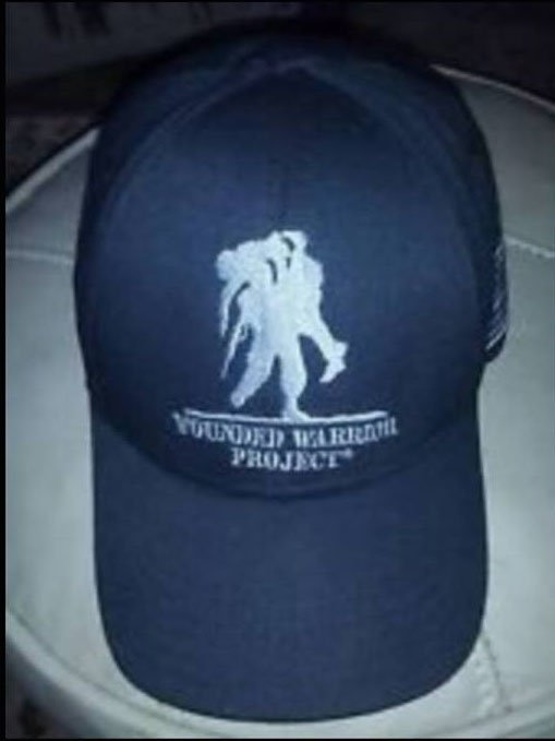 Wounded Warrior hat. Source: Jessica Markel