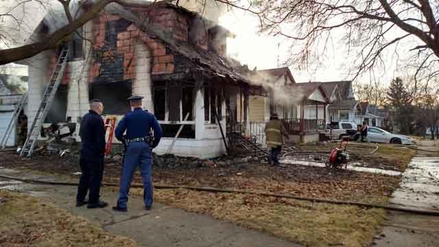 1405 Brabyn house fire. Source: WNEM